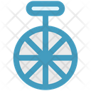 Mono Cycle Wheel Cycle Icon