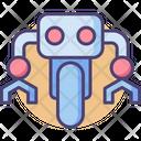 Mono Wheel Robot Wheel Robot Robot Icon