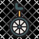 Monocycle Unicycle Cycle Icon