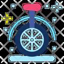 Monocycle Unicycle Circus Icon