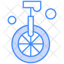 Monocycle Circus Cycle Unicycle Icon