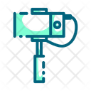 Monopod Pod Mono Icon