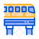 Public Transport Monorail Icon