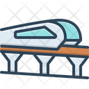 Monorail Carriage Journey Icon