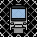 Monorail Train Rail Icon