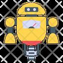 Monowheel Robot Icon