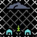 Monsoon Rain Thunder Icon