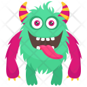 Furry Ghost Zombie Icon