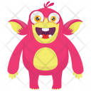 Monkey Cartoon Beast Icon