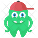Buck Tooth Cartoon Icon
