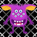 Funny Eyes Zombie Icon