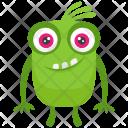 Green Mascot Colorful Icon