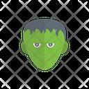 Monster Zombie Halloween Icon