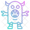 Monster Alien Horror Icon