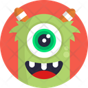 Monster Scary Horror Icon