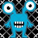 Krumm Monster Real Monster Auten Mangler Icon
