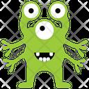Three Eyed Monster Eyed Alien Three Eyed Icon