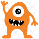 Mazuk Wazowski Horror Monster Cartoon Monster Icon