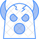 Monster Ghost Spooky Icon