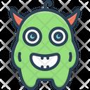 Monster Alien Creature Icon