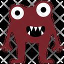 Cartoon Monster Monster Drawing Frog Monster Icon