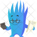 Monster As Accountant Icon