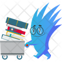 Monster As Student Icon