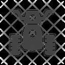 Monster Bike Icon