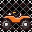 Monster Bike Heavy Bike Dessert Bike Icon