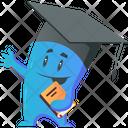 Monster Graduate Student Icon