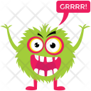 Monster Growling Icon