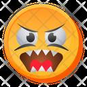 Monster Laugh Emoji Icon