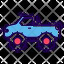 Monster Truck Van Automobile Icon