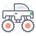 Monster Truck Heavy Truck Conveyance Icon