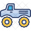 Monster Transport Truck Icon