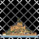 France Landmark Monastery Icon