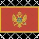 Montenegro National Country Icon