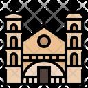 Montenegro Kotor Oldcity Landmark Icon