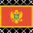 Montenegro Flag World Icon