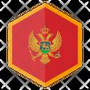 Montenegro Country Flag Icon