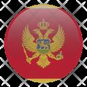 Montenegro National Holida Icon