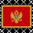 Montenegro Flag Flags Icon