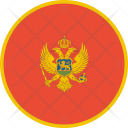 Montenegro Flag World Icon