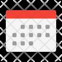 Month Calendar Schedule Icon
