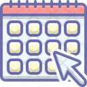 Monthly Subscription Subscribe Icon