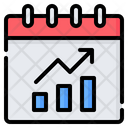 Monthly Report Business Icon