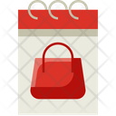 Monthly Shopping Shopping Event Icon