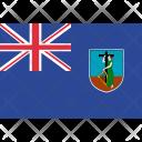 Montserrat Country Flag Icon