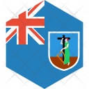 Montserrat Flag World Icon