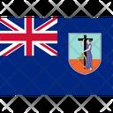 Flag Country Montserrat Icon